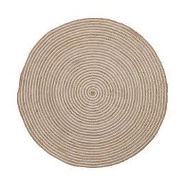Covor SAMY 150cm natural/ alb