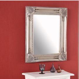Oglinda decorativa Speculum argintiu