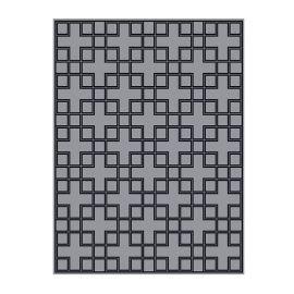 Covor Caton 300x400cm gri/ negru