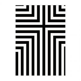 Covoare - Covor Thistle 170x240cm alb/ negru
