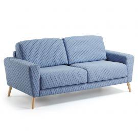 Canapea fixa GUY albastru deschis - Evambient Barcelona Living - Canapele