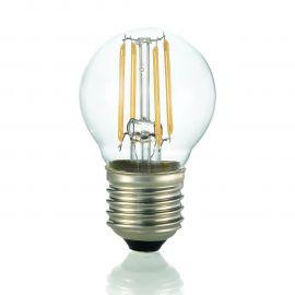 Bec LED E27 Sfera TRASPARENTE 4000K - Evambient IdL - Becuri E27