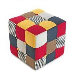 Taburete MELANIA-PAT patchwork