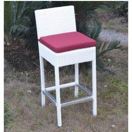 Set de 2 scaune de bar MIJAS-BL