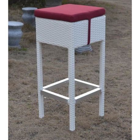 Set de 2 scaune de bar MONET-BL