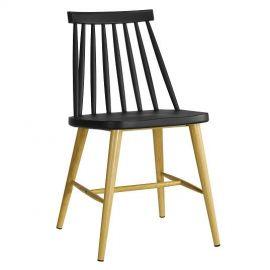 Set de 2 scaune CAMUS-NE negru