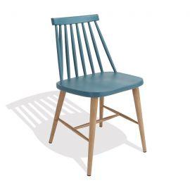Set de 2 scaune CAMUS-TU turcoaz