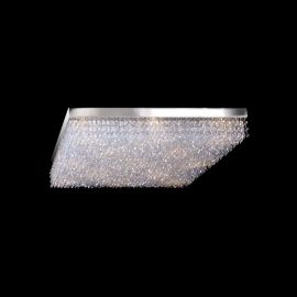 Plafoniera Cristal Bohemia 30x30cm