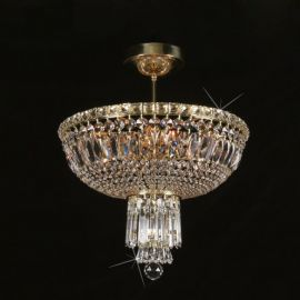 Lustra Cristal Bohemia diametru 42cm