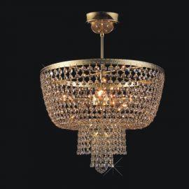 Lustra Cristal Bohemia diametru 40cm