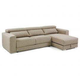 Canapea fixa cu sezlong SINGAPORE bej