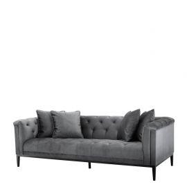 Canapea design LUX Cesare, granite grey