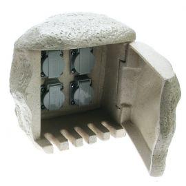 Distribuitor prize exterior cu cablu IP44 4L
