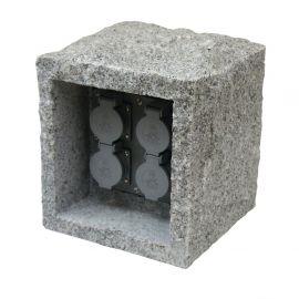Distribuitor 4 prize exterior cu cablu IP44 KUBUS