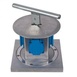 Distribuitor retractabil cu 4 prize exterior IP44 4L