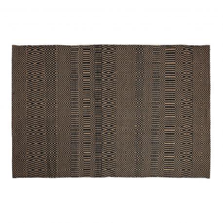 Covor BOON 160x230 iuta neagra - Evambient Barcelona Living - Covoare