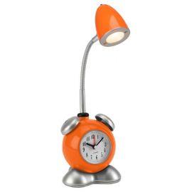 Veioza LED cu ceas / Lampa camera copii Pharrell portocalie
