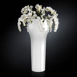 Aranjament floral NEW DELHI IN SHINY VASE, 160cm