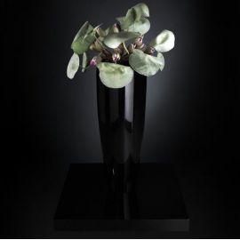 Aranjament floral TOKIO, negru 110cm