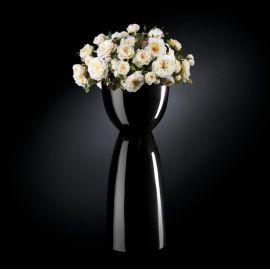 Aranjament floral VIENNA IN SHINY VASE, negru - Evambient VG - Aranjamente florale LUX