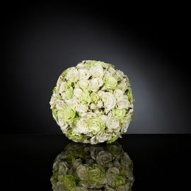 Aranjament floral SPHERE SMALL ROSES MIX SMALL