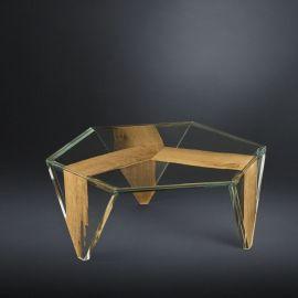 Masuta design Glass&Wood RUCHE VENEZIA