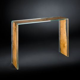 Consola design Glass&Wood VENEZIA