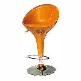 Set 2 scaune bar pivotante DANDY portocaliu