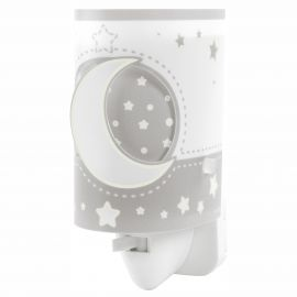 Lampa de veghe camera copii Moon Light, gri
