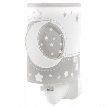 Lampa de veghe camera copii Moon Light, gri - Evambient DB - Articole pentru copii