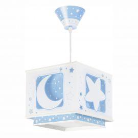 Lustra camera copii Moon Light, albastru