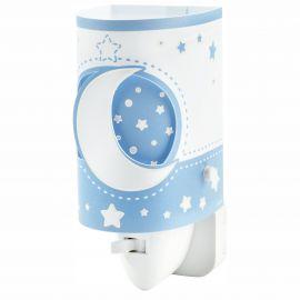 Lampa de veghe camera copii Moon Light, albastru - Evambient DB - Articole pentru copii