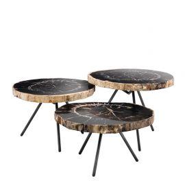 Set de 3 masute living design LUX De Soto