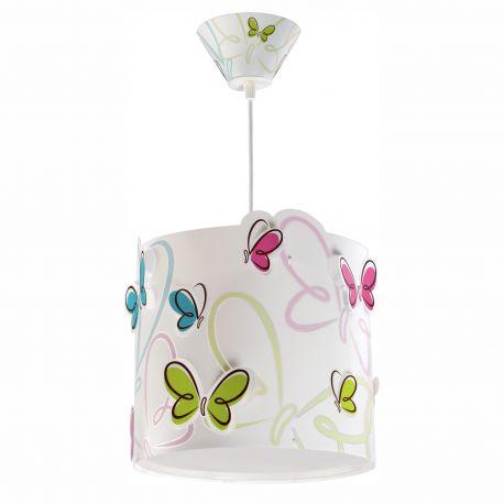 lustra camera copii butterfly. Black Bedroom Furniture Sets. Home Design Ideas