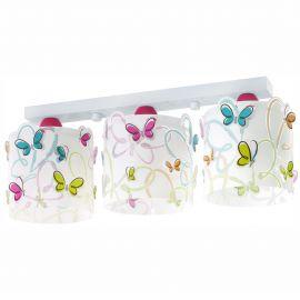 Lustra aplicata camera copii Butterfly - Evambient DB - Articole pentru copii