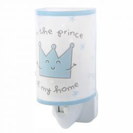 Lampa de veghe camera copii Prince & Princess albastru - Evambient DB - Articole pentru copii