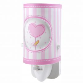 Lampa de veghe camera copii Sweet Light roz - Evambient DB - Articole pentru copii