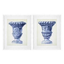 Set de 2 tablouri Palace Urns