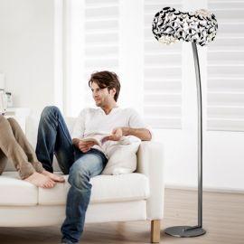 Lampadar design modern Narisa crom