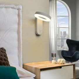 Aplica perete LED design modern Omar - Evambient SV - Aplice cu Spot
