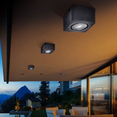 Plafoniera sau Tarus LED iluminat exterior IP65 Gregal - Evambient SV - Plafoniere