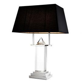 Lampa de masa LUX Nobu nickel - Eichholtz - Veioze