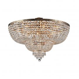 Lustra cristal design elegant Palace 100cm auriu