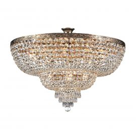 Lustra cristal design elegant Palace 80cm auriu