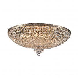 Lustra cristal design elegant Palace 80cm auriu - Evambient MY - Lustre aplicate