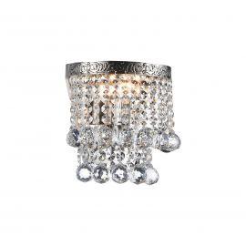 Aplica cristal design elegant Gala nickel - Evambient MY - Aplice
