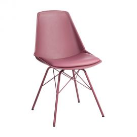 Set de 2 scaune design modern Karina roz