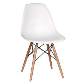 Set de 2 scaune design vintage Nordica alb