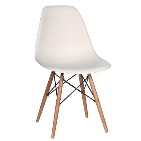 Set de 2 scaune design vintage Nordica crem - Evambient SX - Seturi scaune, HoReCa