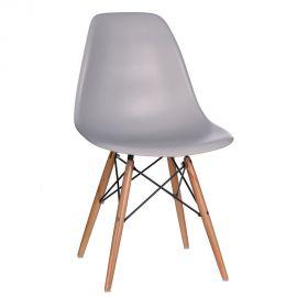 Set de 2 scaune design vintage Nordica gri - Evambient SX - Seturi scaune, HoReCa